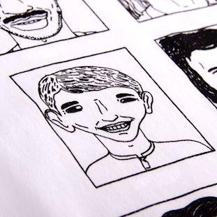 Badly Drawn Footballers T-Shirt | 4 | COPA