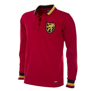 214 | Belgium 1954 Long Sleeve Retro Football Shirt | 1 | COPA