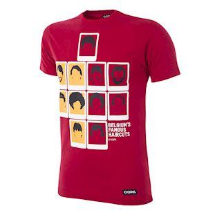 Belgium's Famous Haircuts T-Shirt | 1 | COPA