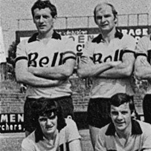 783 | Berchem Sport 1970's Short Sleeve Retro Football Shirt | 2 | COPA