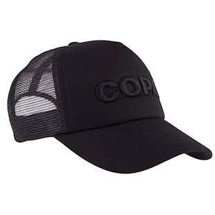 copa-3d-black-logo-trucker-cap-black | 3 | COPA