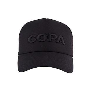 COPA 3D Black Logo Trucker Cap | 3 | COPA