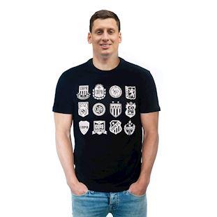 6748 | COPA Crests T-Shirt | Black | 1 | COPA