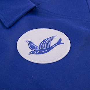 Cardiff City FC 1976 - 77 Retro Football Shirt | 3 | COPA