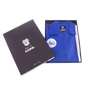 Cardiff City FC 1976 - 77 Retro Football Shirt | 6 | COPA