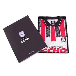 Cardiff City FC 1993 - 94 Away Retro Football Shirt | 6 | COPA