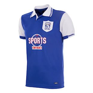 Cardiff City FC 1998 - 99 Retro Voetbal Shirt | 1 | COPA