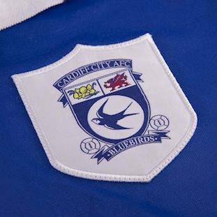 Cardiff City FC 1998 - 99 Retro Voetbal Shirt | 3 | COPA