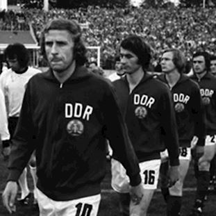 DDR 1970's Retro Football Jacket | 2 | COPA