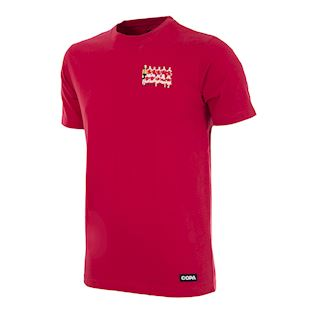 Denmark 1992 European Champions Embroidery T-Shirt | 1 | COPA