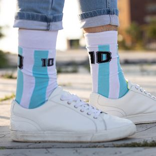 Diego Argentina Calcetines Casual | 6 | COPA