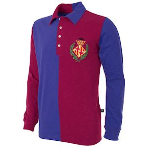 701 | FC Barcelona 1899 Long Sleeve Retro Football Shirt | 1 | COPA