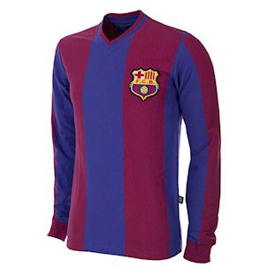 723 | FC Barcelona 1916 - 17 Long Sleeve Retro Football Shirt | 1 | COPA