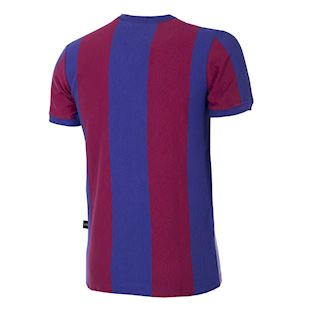 FC Barcelona 1955 - 56 Retro Football Shirt | 4 | COPA