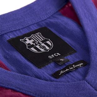 FC Barcelona 1955 - 56 Retro Football Shirt | 6 | COPA