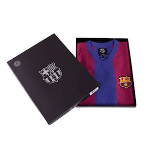 FC Barcelona 1955 - 56 Retro Football Shirt | 7 | COPA