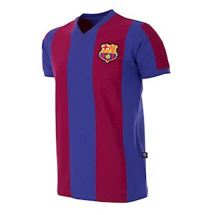 702 | FC Barcelona 1976 - 77 Short Sleeve Retro Football Shirt | 1 | COPA