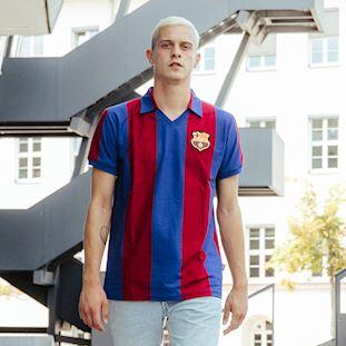 FC Barcelona 1980 - 81 Retro Football Shirt | 9 | COPA