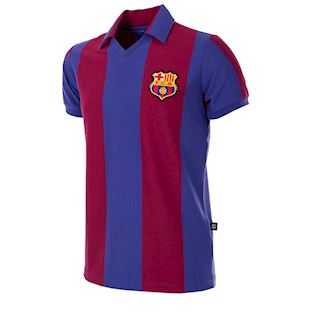 703 | FC Barcelona 1980 - 81 Short Sleeve Retro Football Shirt | 1 | COPA