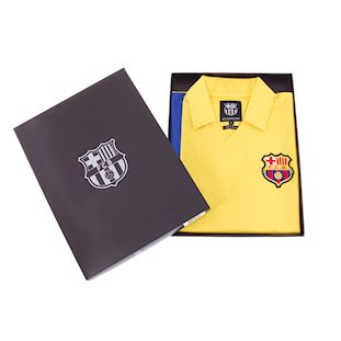 FC Barcelona 1981 - 82 Away Retro Football Shirt | 6 | COPA