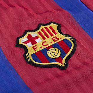 FC Barcelona 1990 - 91 Retro Football Shirt | 3 | COPA