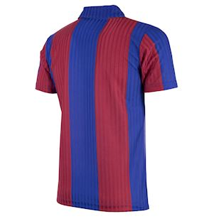 FC Barcelona 1990 - 91 Retro Football Shirt | 4 | COPA