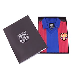 FC Barcelona 1990 - 91 Retro Football Shirt | 6 | COPA