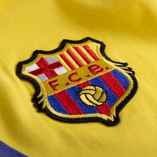 FC Barcelona Away 1974 - 75 Retro Voetbal Shirt | 3 | COPA