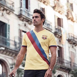 FC Barcelona Away 1978 - 79 Retro Football Shirt   8   COPA