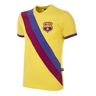 fc-barcelona-away-1978-79-short-sleeve-retro-football-shirt-yellow | 1 | COPA