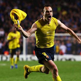 FC Barcelona Iniesta Casual Sokken | 2 | COPA