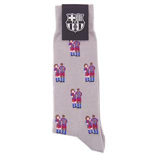 FC Barcelona Puyol - Abidal Chaussettes Décontracté  | 3 | COPA