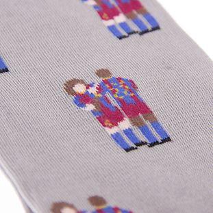 FC Barcelona Puyol - Abidal Chaussettes Décontracté  | 4 | COPA