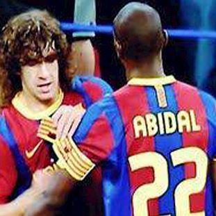 FC Barcelona Puyol - Abidal Chaussettes Décontracté  | 2 | COPA