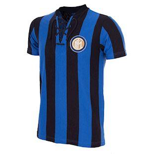 709   FC Internazionale 1958 - 59 Short Sleeve Retro Football Shirt   1   COPA