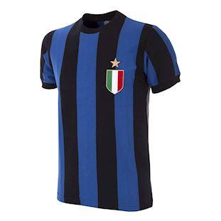 734   FC Internazionale 1966 - 67 Short Sleeve Retro Football Shirt   1   COPA