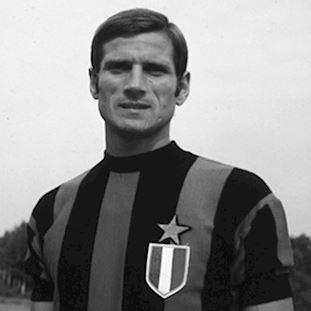 734   FC Internazionale 1966 - 67 Short Sleeve Retro Football Shirt   2   COPA
