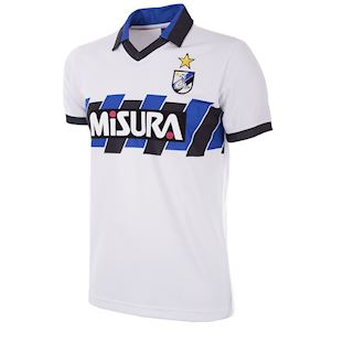 736   FC Internazionale Away 1989 - 90 Short Sleeve Retro Football Shirt   1   COPA