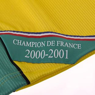 FC Nantes 2000 - 01 Retro Football Shirt | 5 | COPA