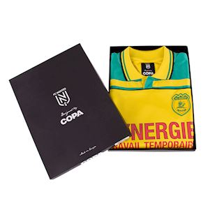 FC Nantes 2000 - 01 Retro Football Shirt | 7 | COPA