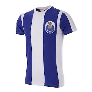 6743 | FC Porto Retro T-Shirt | White - Blue | 1 | COPA