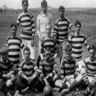 1242 | Feyenoord 1909 Long Sleeve Retro Shirt 100% cotton | 2 | COPA