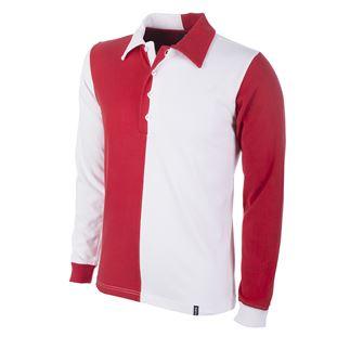 1243 | Feyenoord 1912 Long Sleeve Retro Shirt 100% cotton | 1 | COPA