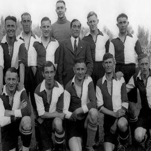 1243 | Feyenoord 1912 Long Sleeve Retro Shirt 100% cotton | 2 | COPA