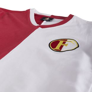 Feyenoord 1960's Retro Football Shirt | 4 | COPA