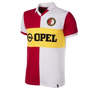 1254 | Feyenoord 1984 Short Sleeve Retro Football Shirt | 1 | COPA