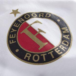 1248 | Feyenoord Captain V-neck T-Shirt // White-Red 100% cotton | 2 | COPA