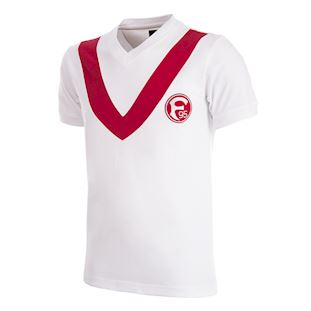 Fortuna Düsseldorf 1965 Retro Football Shirt   1   COPA