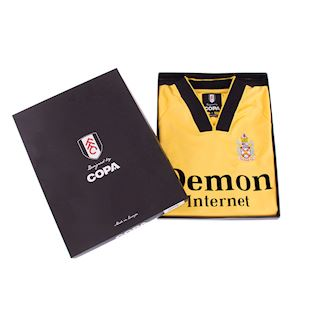 Fulham FC 1998 - 99 Away Retro Football Shirt | 6 | COPA