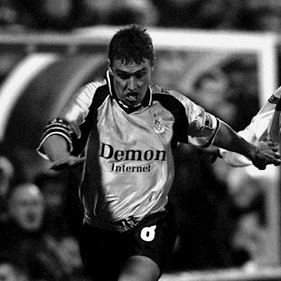 Fulham FC 1999 - 2000 Away Retro Football Shirt | 2 | COPA